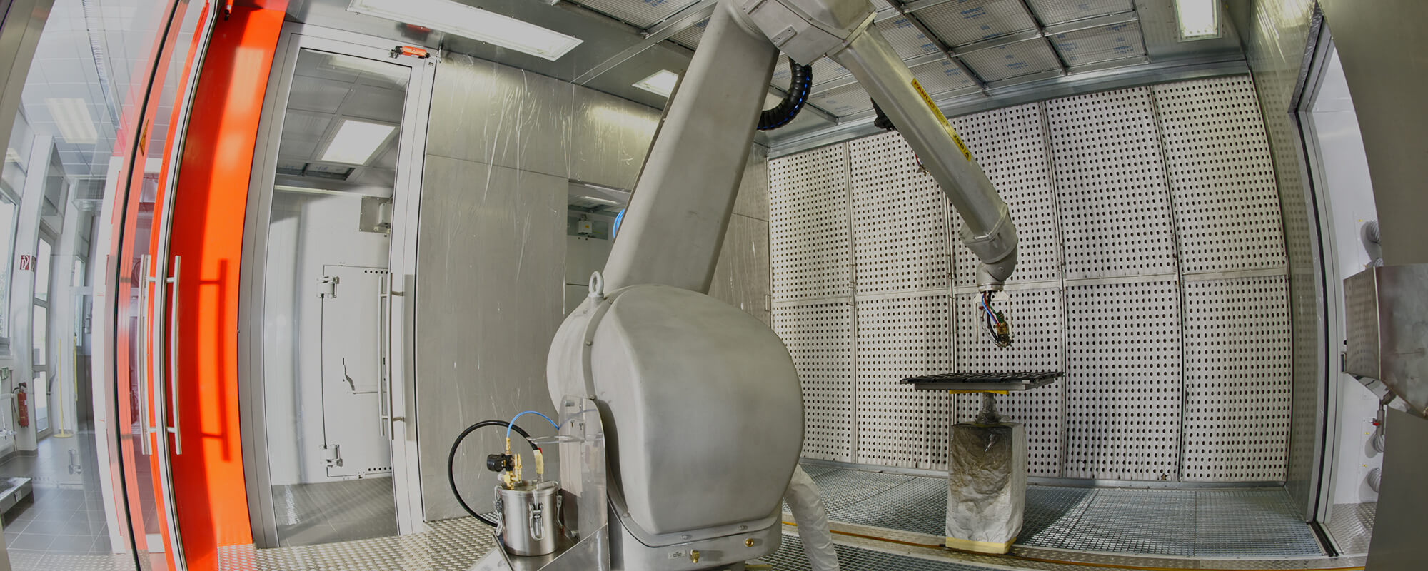 Inhouse Robot Coating Cell