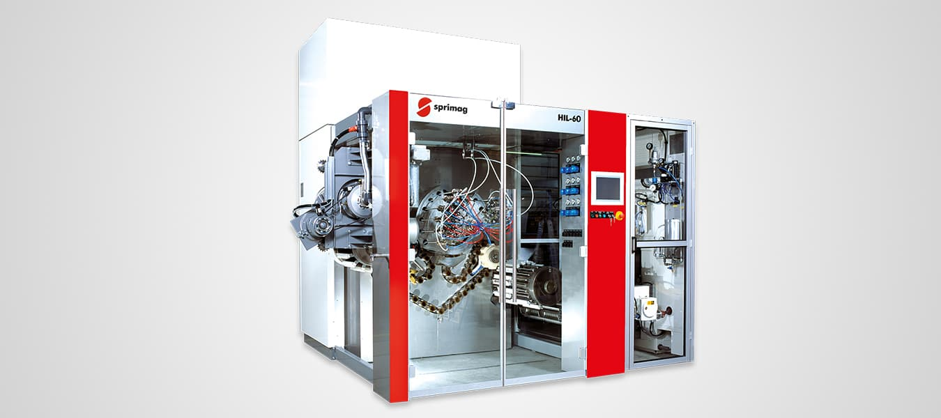 HIL-60 Internal Coating Machine for Aluminum Tubes