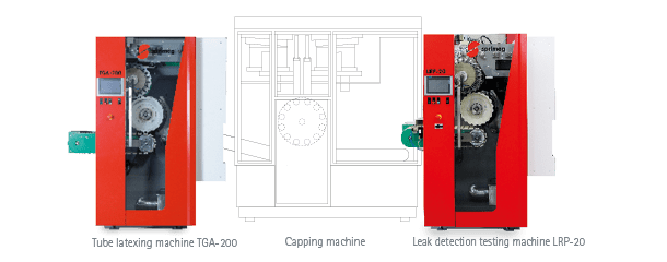 TGA-200L - Testing Machine with Latexing Function