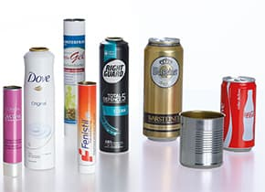 Internal Coating of Tubes, Aerosol Cans and Beverage Cans