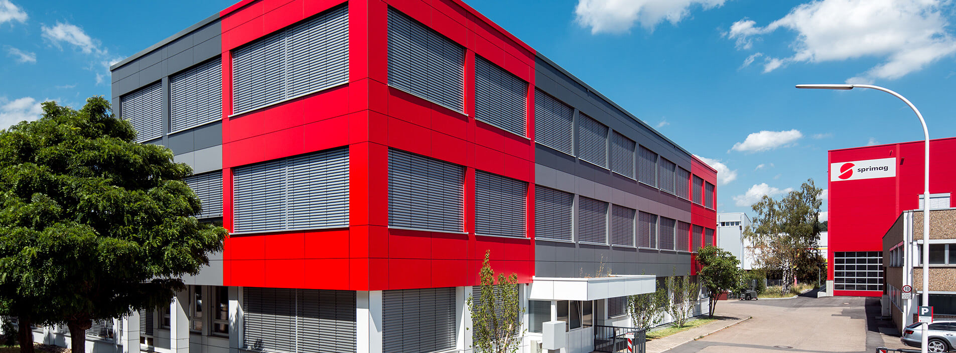 Headquarters Sprimag in Kirchheim Germany